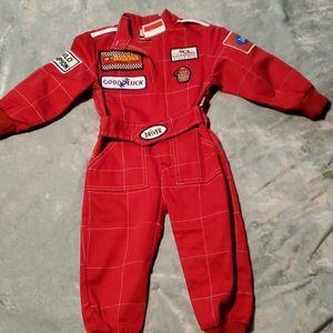 Toddler Racecar Driver Suit /Costume